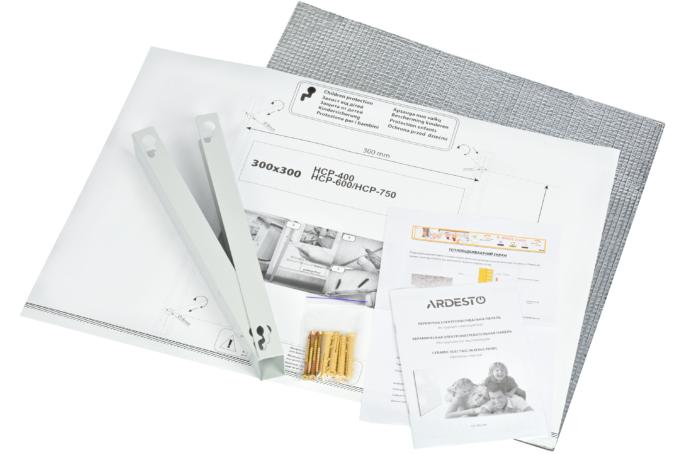 Ceramic infrared electric heater Ardesto HCP-600BRM