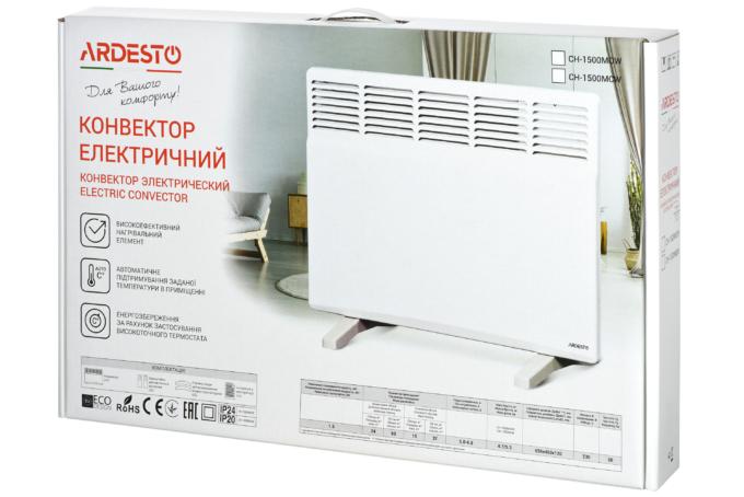 Конвектор електричний Ardesto CH-1500MOW