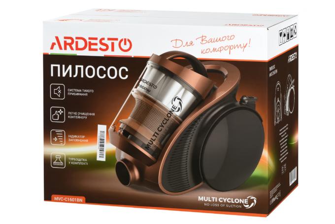 Пилосос Ardesto MVC-C1601BN