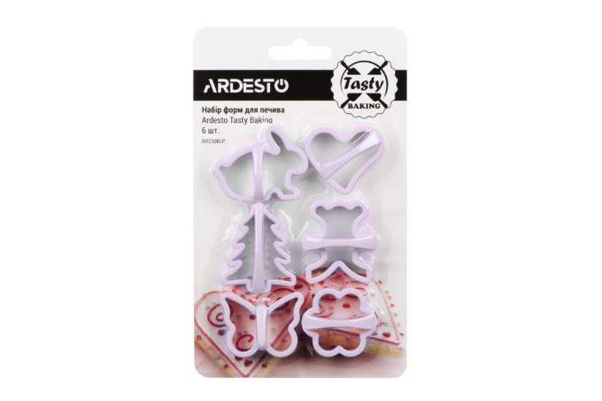 Набор форм для выпечки печенья Ardesto Tasty baking AR2308LP