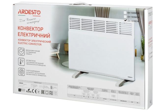Конвектор електричний з програматором Ardesto СН-1500ECW