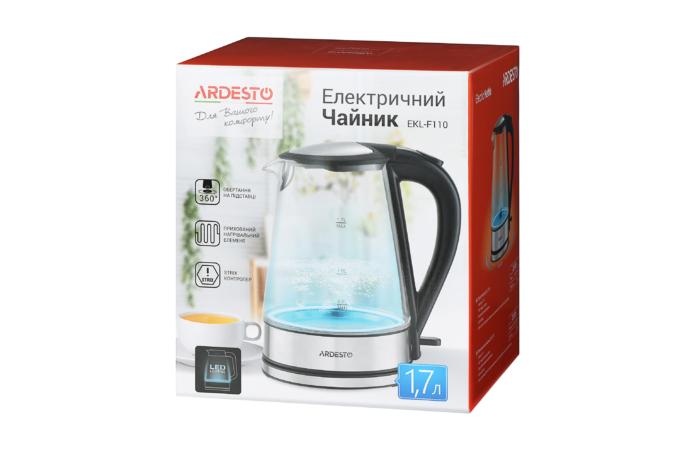 Электрочайник Ardesto EKL-F110