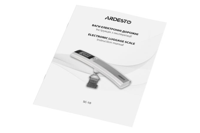 Весы-кантер Ardesto SC10