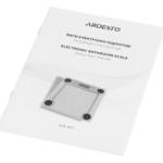 Весы напольные Ardesto SCB-965LEAVES