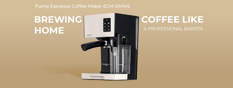 Pump Espresso Coffee Maker Ardesto ECM-EM14S