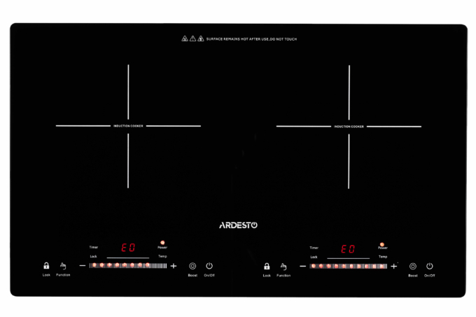 Настільна варильна поверхня Ardesto ICS-B218