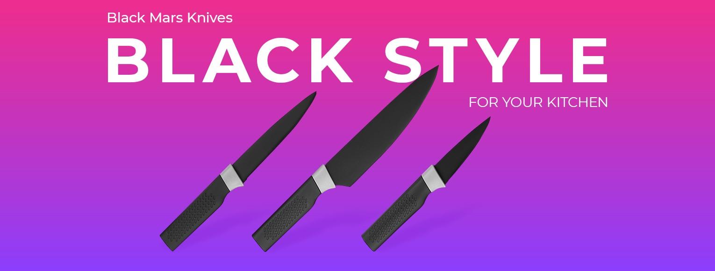 Ardesto Black Mars Knifes