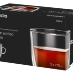 Cups set Ardesto with double walls AR2627G
