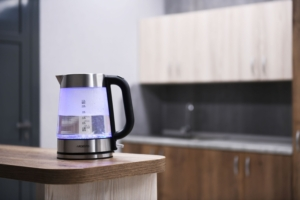 New electric kettles equipped with Strix-controllers to protect against overheating