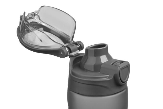 Пляшка для води Ardesto Matte Bottle (600 мл) AR2205PGY