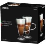 Набір чашок Ardesto з подвійними стінками AR2623GH