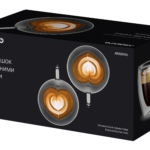 Cups set Ardesto with double walls AR2625GHL