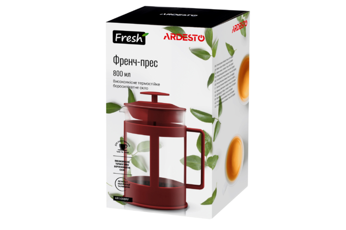Френч-пресс Ardesto Fresh AR1008RF
