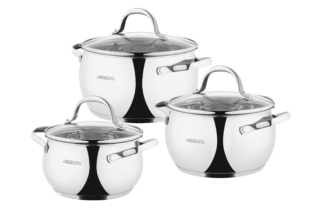Набор посуды Ardesto Gemini AR1906GSS