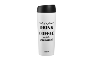 Thermal Mug Ardesto Coffee time (Awesome) 450 ml AR2645DMW