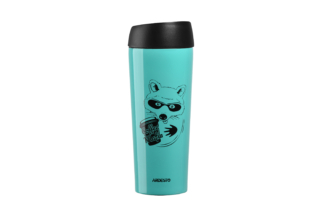 Thermal Mug Ardesto Coffee time (Raccon) 450 ml AR2645DTB
