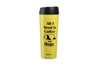 Thermal Mug Ardesto Coffee time (Panda) 450 ml AR2645DTY