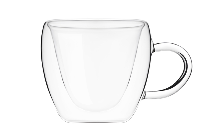 Набір чашок Ardesto з подвійними стінками AR2630GHL
