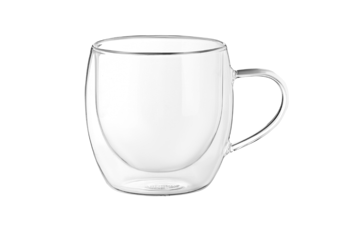 Cup set Ardesto with double walls AR2630GHN