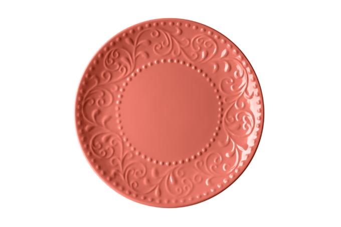 Dessert plate Ardesto Olbia, 19 cm, Deep orange