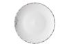 Тарелка десертная Ardesto Lucca, 19 см, Winter white