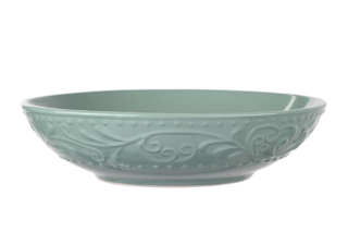 Soup plate Ardesto Olbia, 20 cm, Green Bay