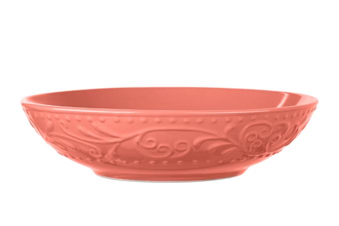 Soup plate Ardesto Olbia, 20 сm, Deep orange