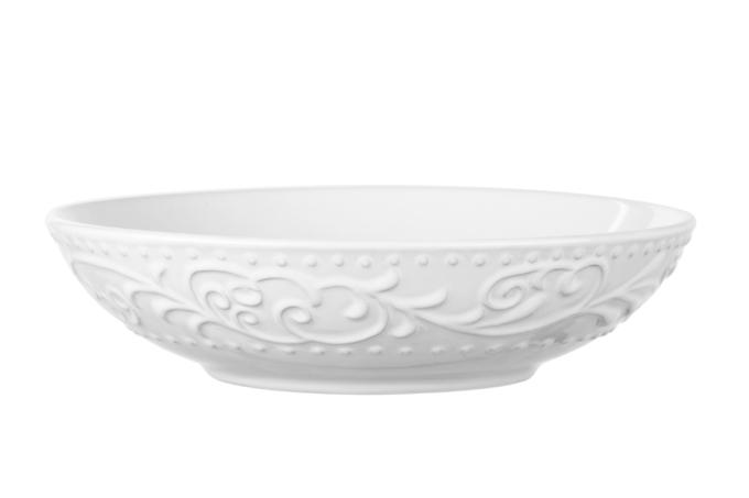 Тарілка супова Ardesto Olbia, 20 см, White