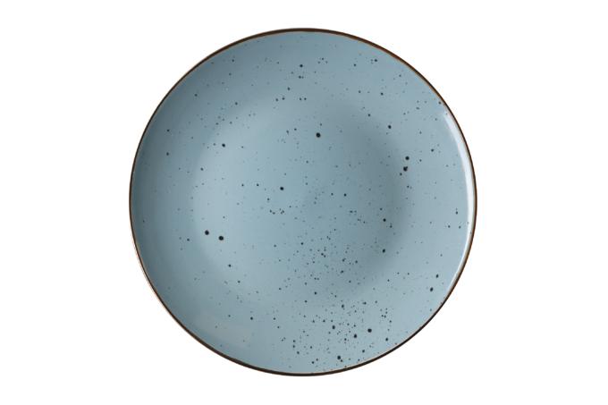 Тарелка обеденная Ardesto Bagheria, 26 см, Misty blue