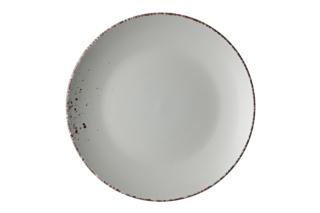 Dinner plate Ardesto Lucca, 26 cm, Illusion blue