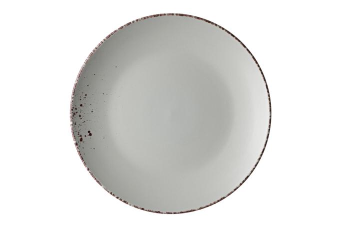 Тарелка обеденная Ardesto Lucca, 26 см, Illusion blue