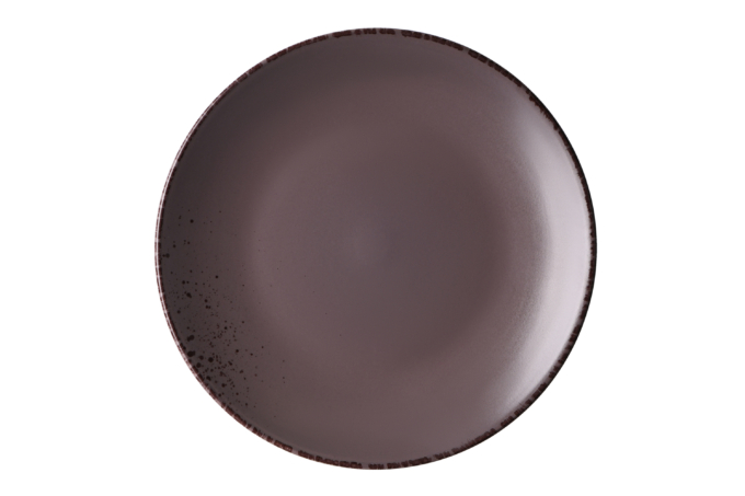 Тарілка обідня Ardesto Lucca, 26 см, Grey brown