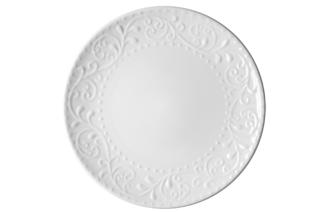 Dinner plate Ardesto Olbia, 26 cm, White