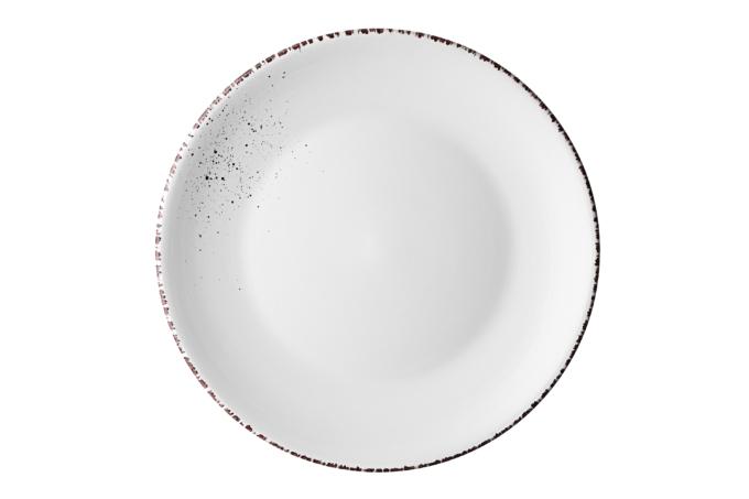 Dinner plate Ardesto Lucca, 26 cm, Winter white