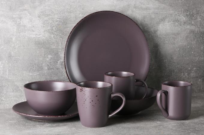 Cup Ardesto Lucca, 360 ml, Grey brown AR2930GMC