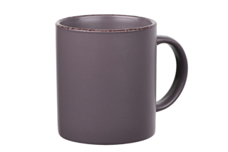 Cup Ardesto Lucca, 360 ml, Grey brown AR2930GMC