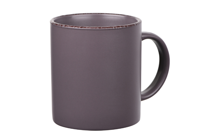 Чашка Ardesto Lucca, 360 мл, Grey brown AR2930GMC