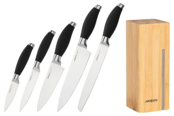 Набір ножів Ardesto Gemini AR2106SB