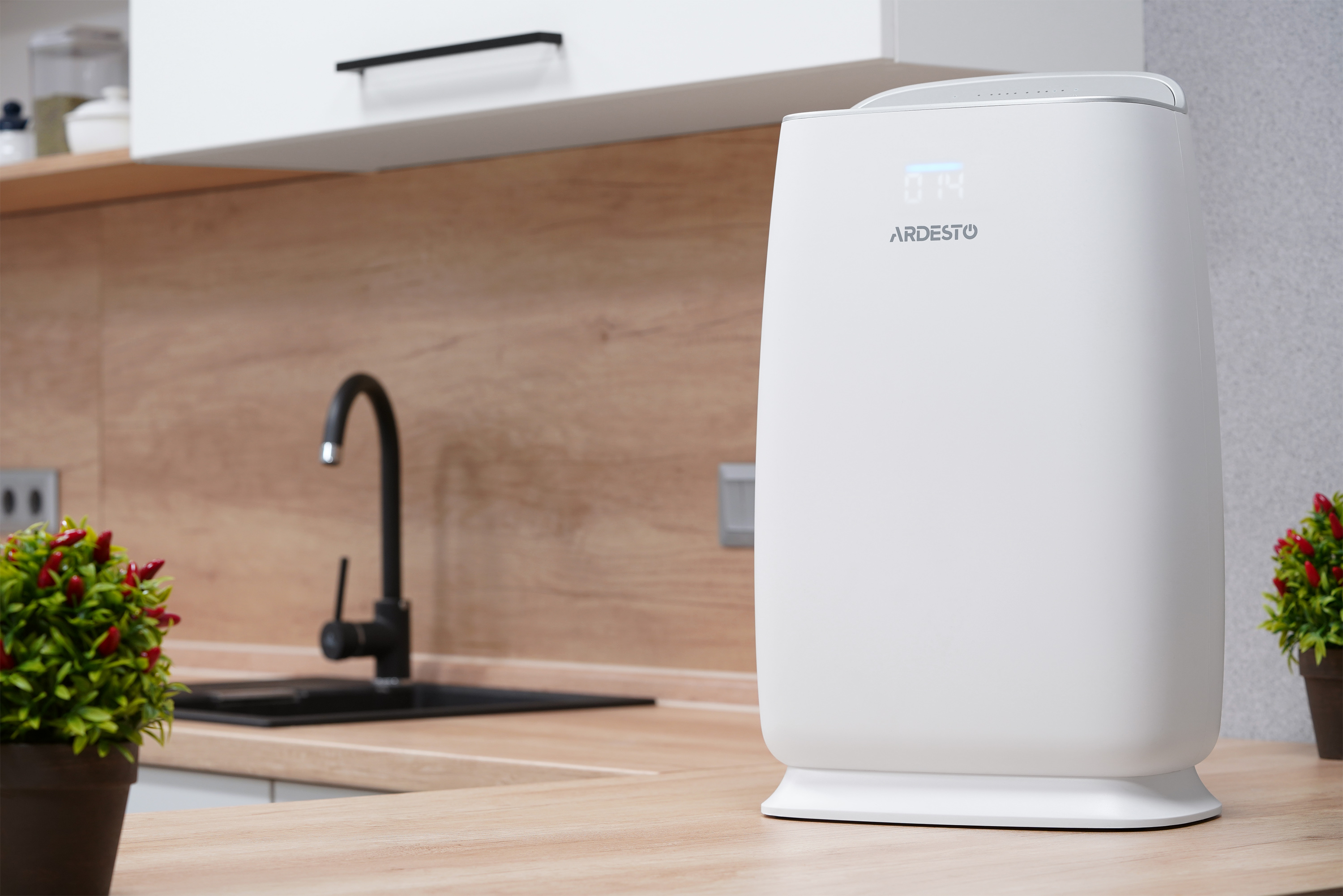A brand-new air purifier with innovative air filtration system