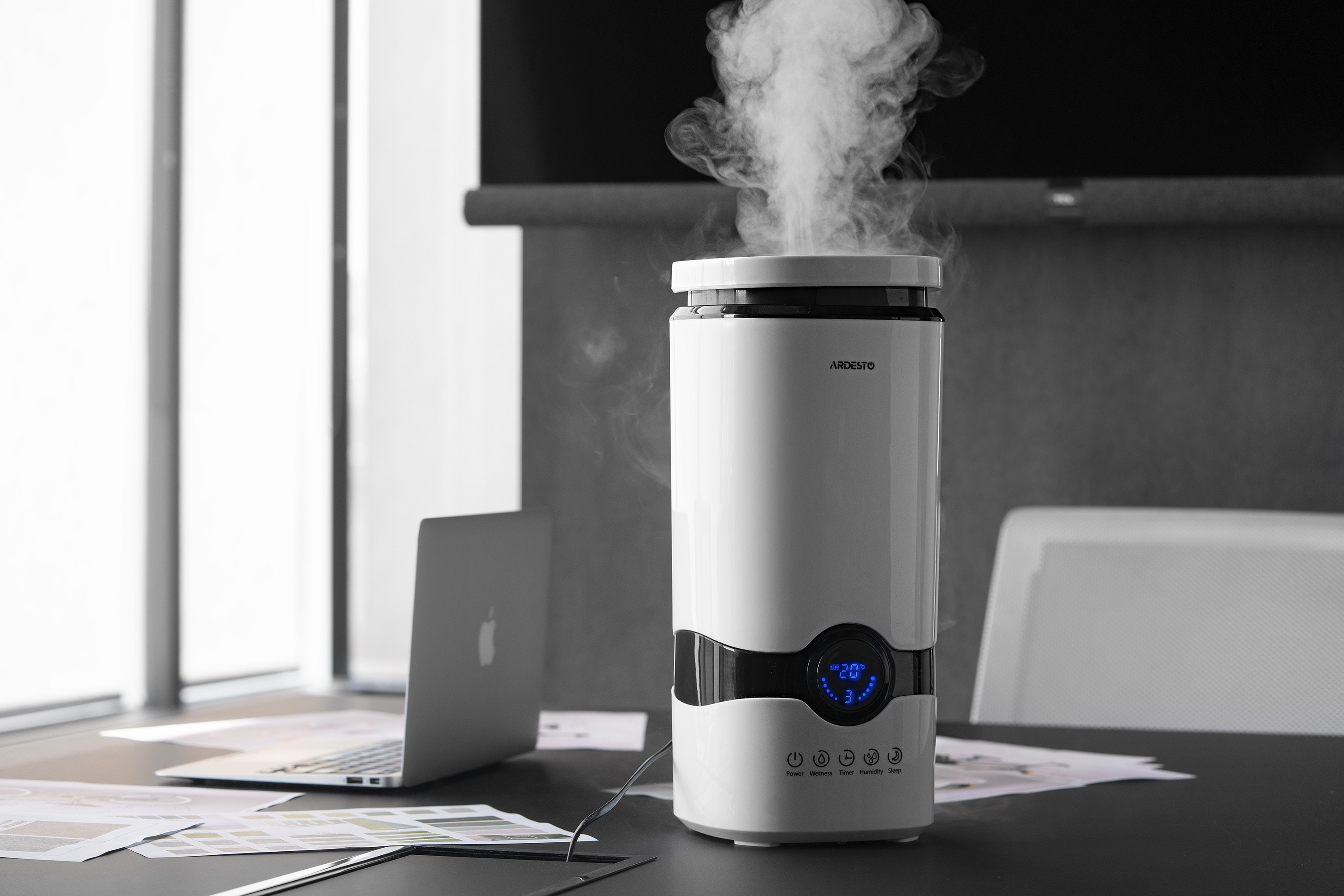 New ultrasonic Ardesto air humidifiers