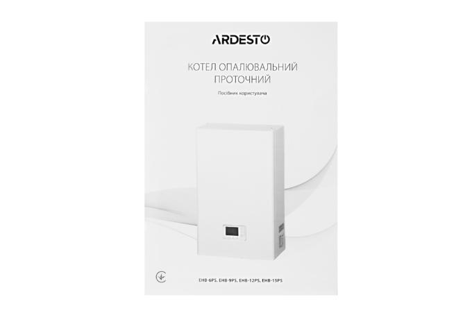 Electric boiler Ardesto EHB-9PS