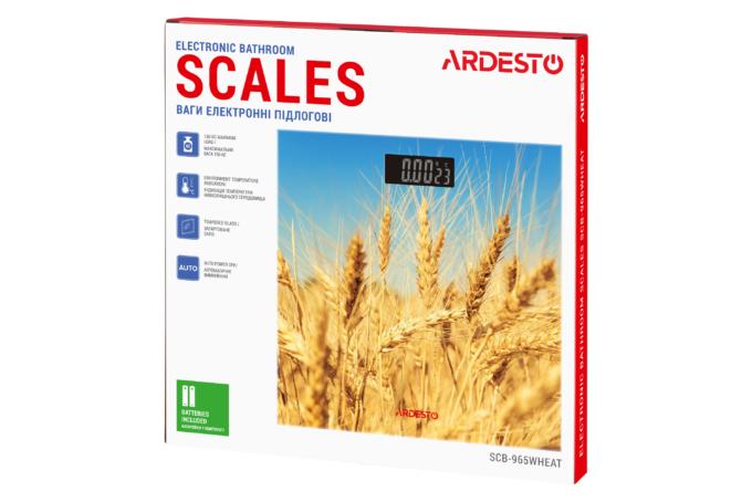 Весы напольные Ardesto SCB-965WHEAT