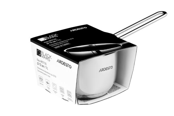 Ковш Ardesto Black Mars AR0710S (12 см)