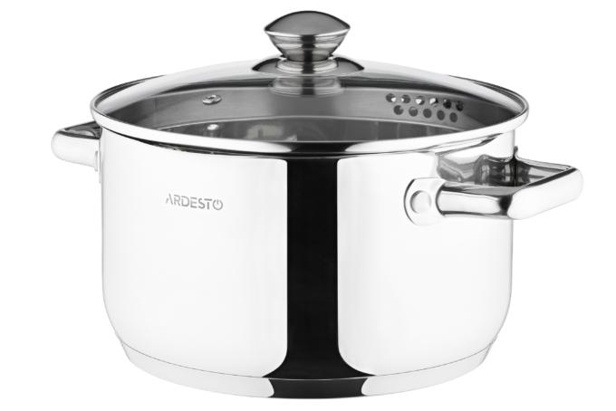 Кастрюля Ardesto Gemini Lecco AR2847CS (22 см)